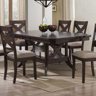 Arlington Extendable Dining Table14 best Round table and chairs images on Pinterest   Round tables  . Arlington Round Sienna Pedestal Dining Room Table W Chestnut Finish. Home Design Ideas