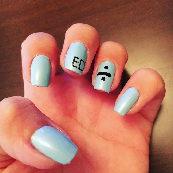 Ed Sheeran concert Nails