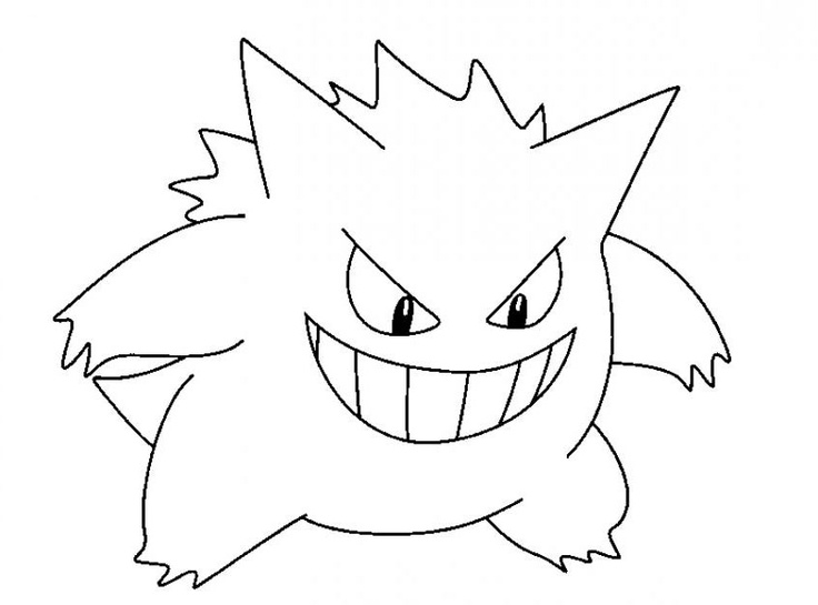 pokemon pencil coloring pages - photo#6