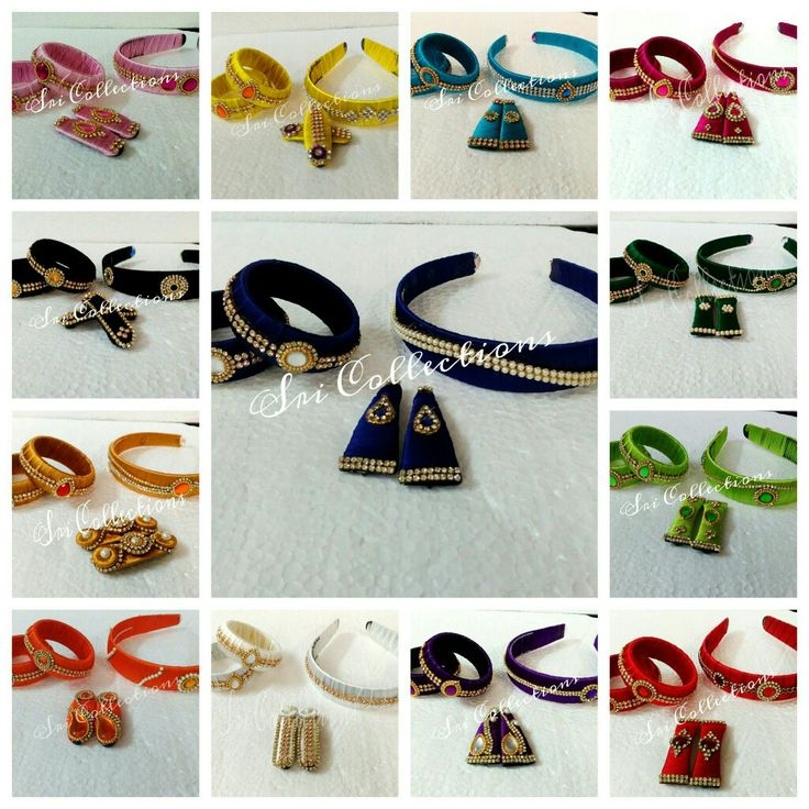 Silk thread accessories fr kids...