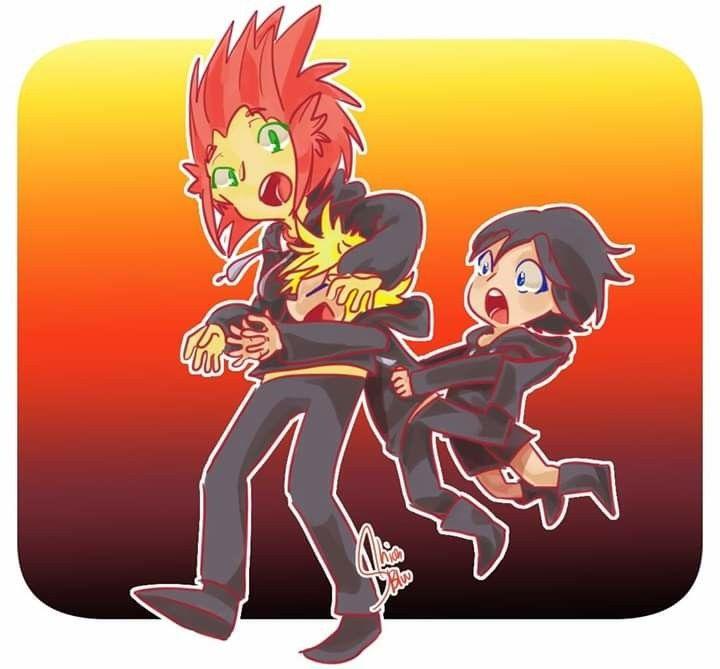 Cannivore: Kingdom hearts: Roxas and Axel