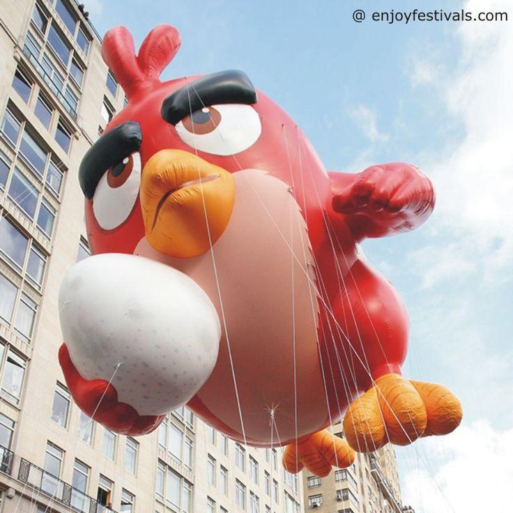 Angry Birds Balloon - Macy's Thanksgiving Parade 2016