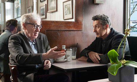 Coffee and post-coital cigarettes …Woody Allen, left, and John Turturro in Fading Gigolo.