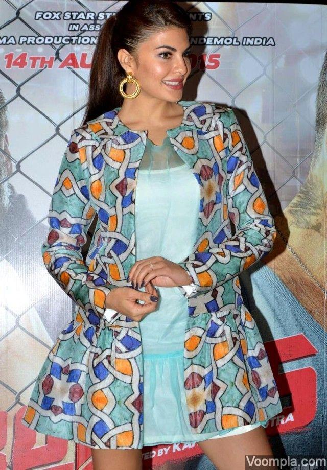Jacqueline Fernandez promotes Brothers with Sidharth Malhotra and Akshay Kumar