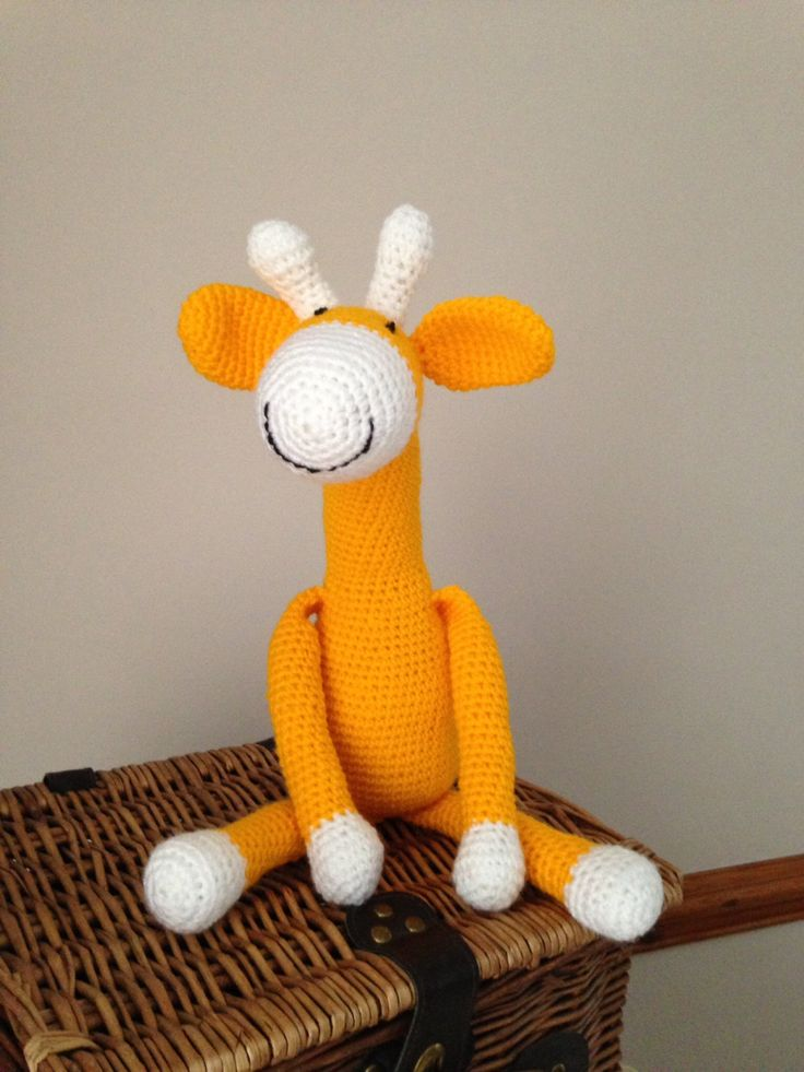 A personal favourite from my Etsy shop https://www.etsy.com/listing/223219522/handmade-giraffe-toy