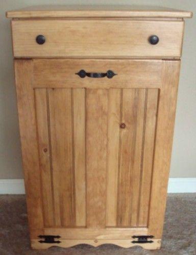 17 best images about trash can cabinet on pinterest. Black Bedroom Furniture Sets. Home Design Ideas