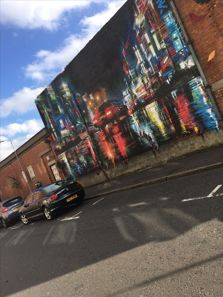 One of my favourite murals that i saw in Belfast- i love the vivid colours