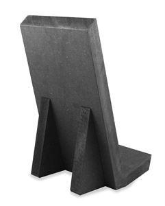 Bookstand black19mm mdf Size 149x223mm Ideal for your coffee table book. Boekstandaard ideaal voor je koffietafelboek.