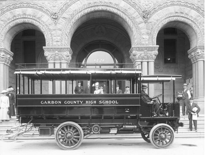 56 Best Buses Images On Pinterest: Olden Days School Bus
