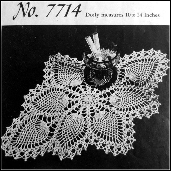 Old-Time Favorites Grandmother/'s Favorite Centerpiece Doily Crochet Pattern