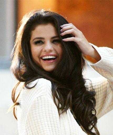 Selena Gomez, these few minutes were perfect