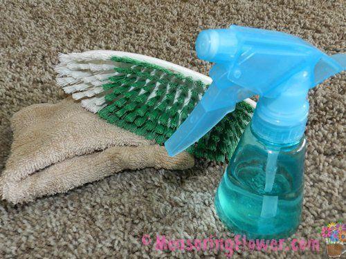 clean vomit ~ How to Naturally Clean Vomit Off Carpet or Furniture {Plus a Post-Vomit Cleaner Recipe}