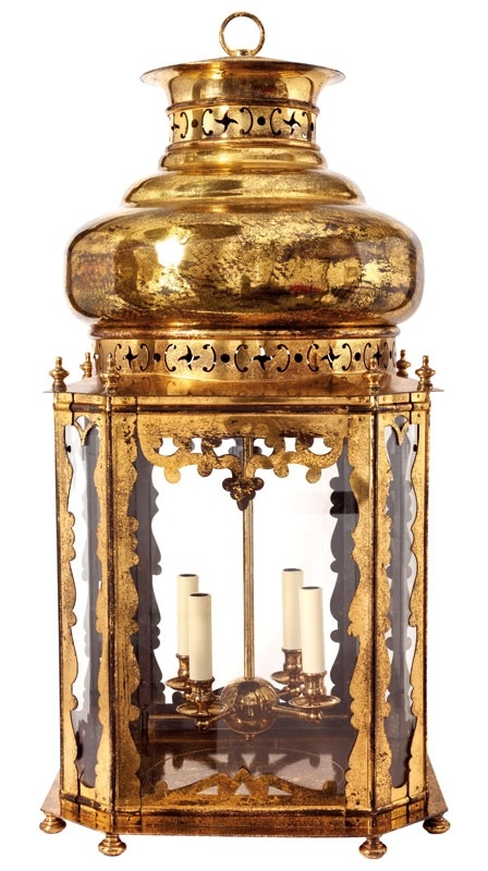 The Topkapi Lantern - would love to have this hanging in a corner.