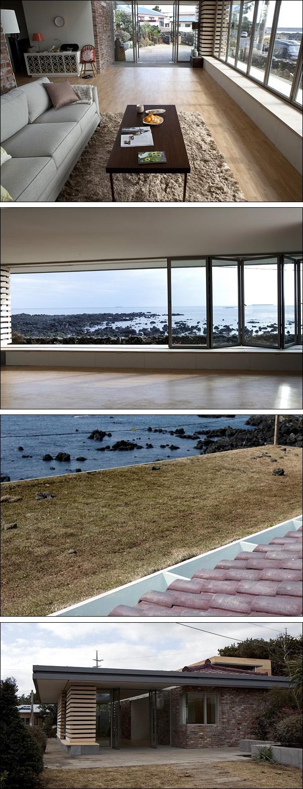 건축가들은 영화 <건축학개론>에 환호했다. 영화에 나온 제주도 집은 왜 건축가가 필요한지 알려준다. 우리가 그 소중함을 잊고 지내는 공기와 물과 태양빛을 가득 담은 주택이다.  http://www.sisainlive.com/news/articleView.html?idxno=15528