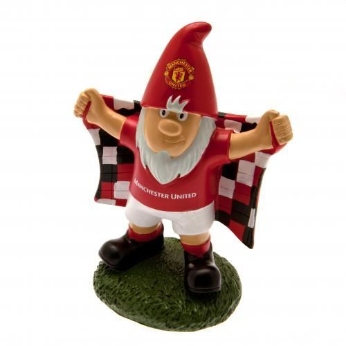 Traditional looking Manchester United Gnome which would make a great addition to any Man United fan's garden. FREE DELIVERY on all of our gifts.