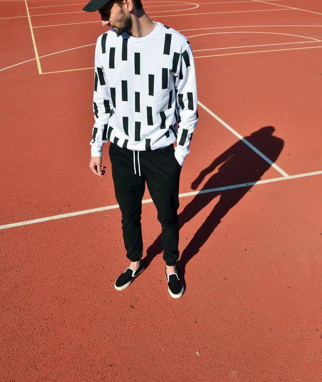 Bluza BLACK STRIPES - KUPLO - Bluzy męskie