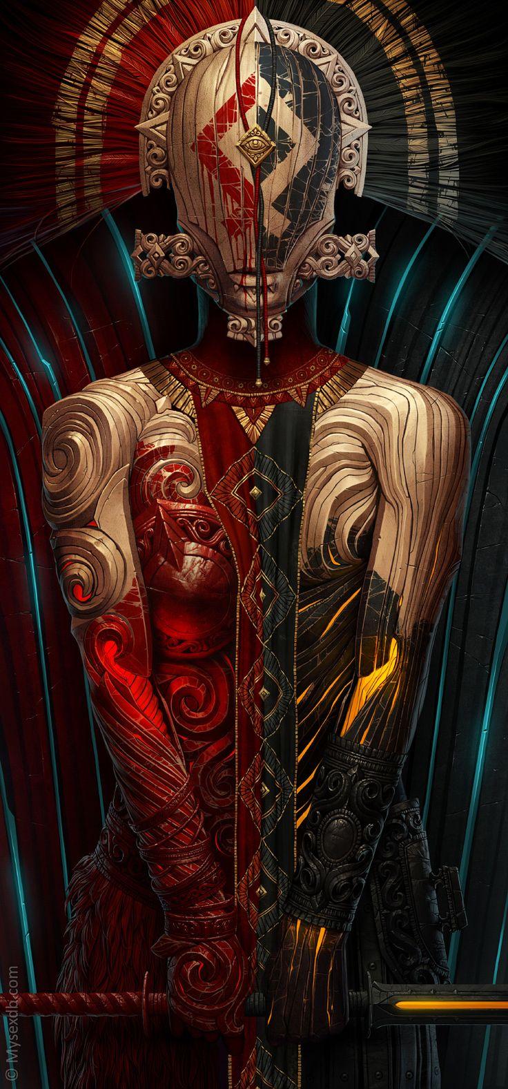 Si vous aimez les univers étranges, vous devriez aimer les personnages de Alexander Fedosov. Cet artiste Ukrainien de 27 ans dispose d'un style propre. Les vêtements ou armures font en général partie intégrante du personnage. Pour en voir davantage, visitez son DeviantArt et son Behance.