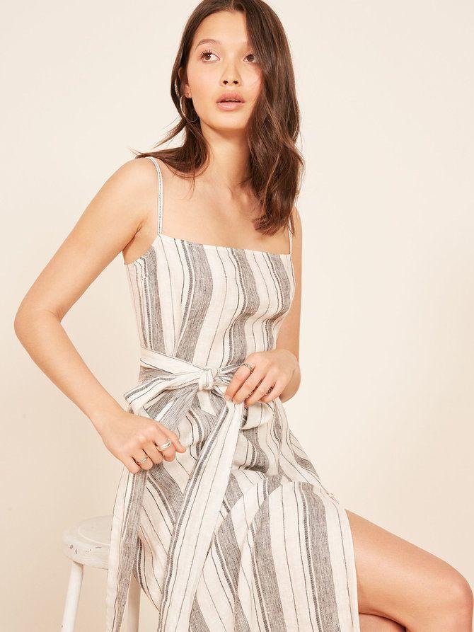 e6e4e7c237 Reformation Pineapple Dress