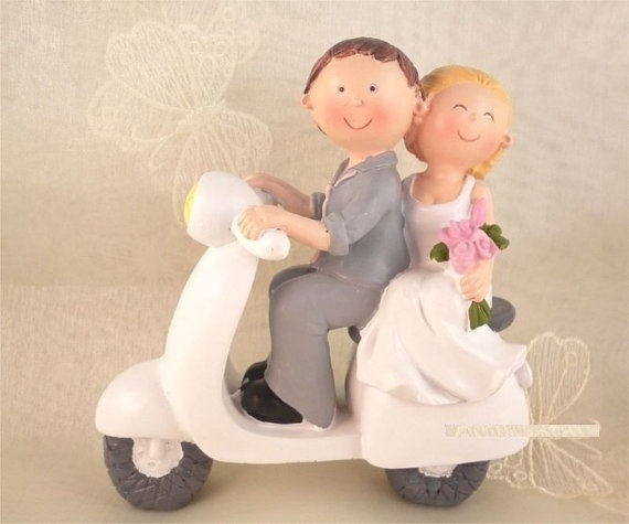 Vespa Cake Topper Scooter