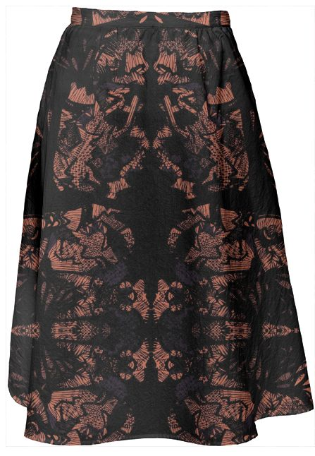 Laced. Lace all over midi skirt. by #ralucaag for #paom