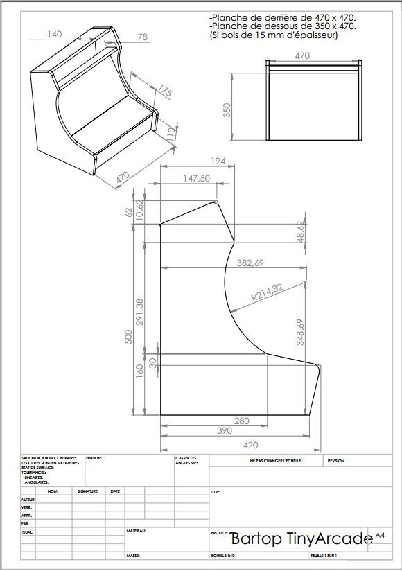 bartop arcade cabinet plans | DIY Woodworking Plans and ...