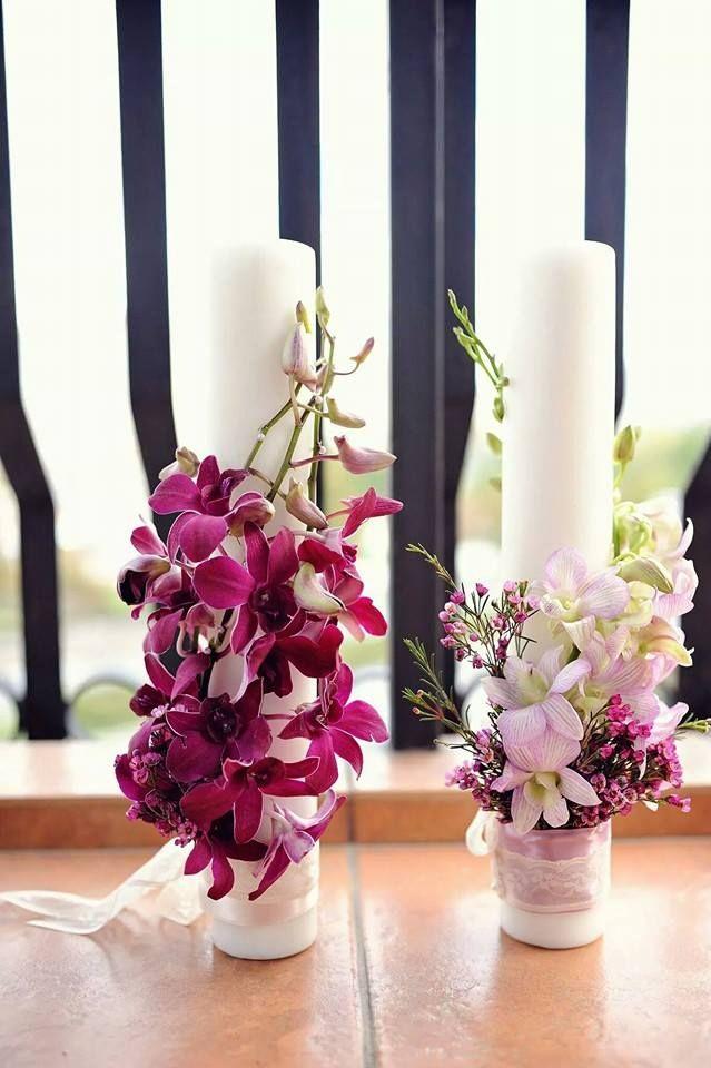 Lumânări nunta   Boutique cu flori