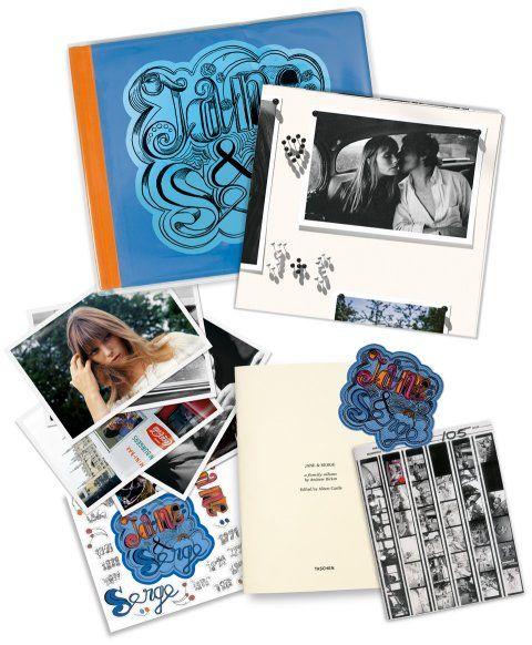 Jane & Serge. Un album de famille. Livres TASCHEN