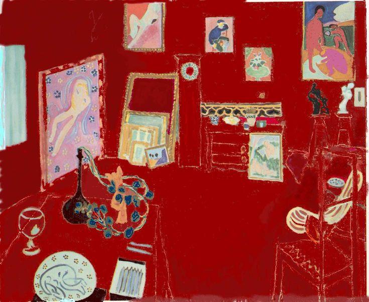 L'atelier rouge (matisse, 1911)