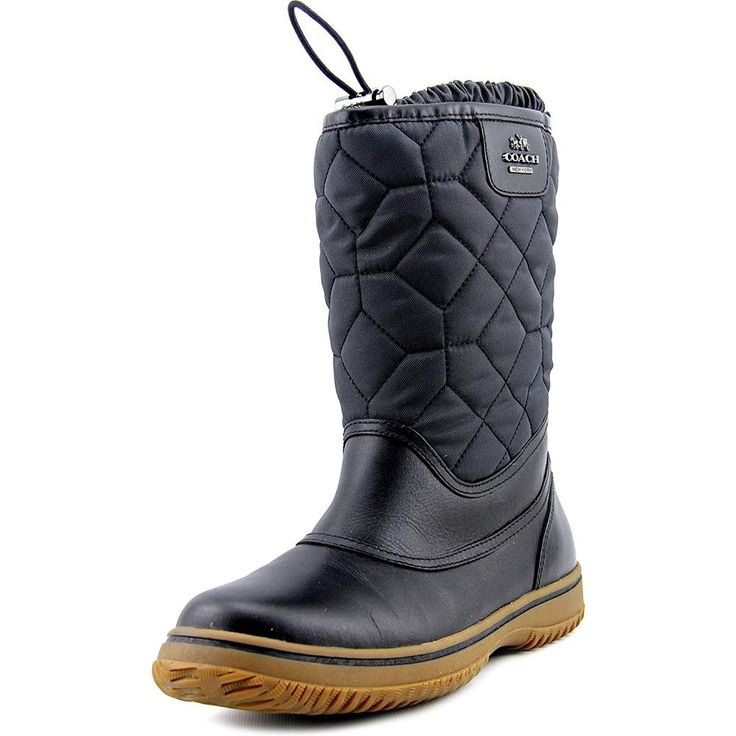 Coach Sparrow Women Round Toe Synthetic Winter Boot * Visit the image link  more details.