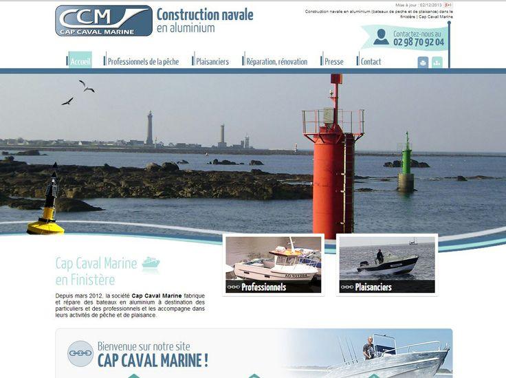 Cap Caval Marine : construction navale en aluminium (bateaux de pêche et de plaisance)