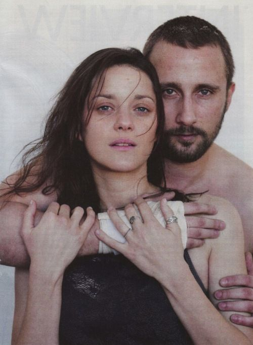 De rouille et d'os, 2012 - Stéphanie (Marion Cotillard) and Alain van Versch (Matthias Schoenaerts)