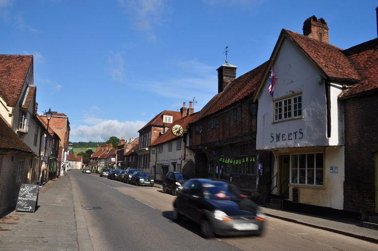 West Wycombe Village and Hellfire Caves.