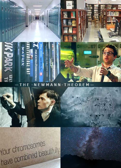 Aesthetic for my fanfic / novel The Newmann Theorem, high school au of Pacific Rim