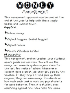 Great Idea to teach money and have fun at the end of the year.