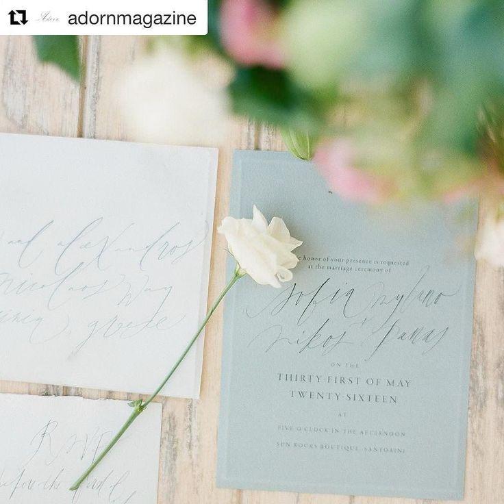 #Repost @adornmagazine with @repostapp  What a pretty way to #RSVP  with these #invitations by @taraspencer_  ___________  Photography: @sotiris_tsakanikas   Workshop: @bohemeworkshops   Creative Direction: @tahneesanders   Florals: @celsiafloral   Planning: @stellaandmoscha   MUAH: @frantzeska_makeup_hair   Models: www.newmodel.gr   Gown: Costarellos   Stationery: @taraspencer_   Head Piece: @naturae_design   Ribbon: @stellawolfeco   Venue: @sophialuxurysuites   Chairs: @weddings_and_whimsy…