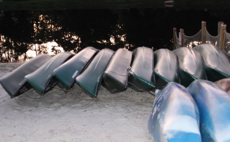 Disney Date Idea #23 Canoe Rental