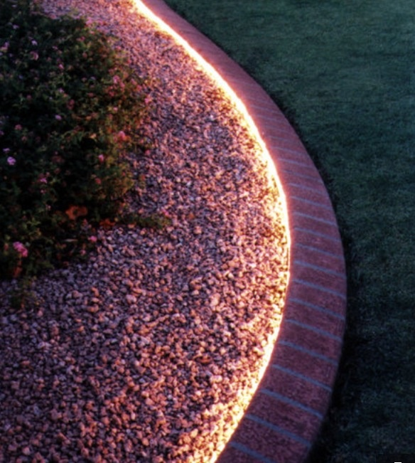 Easy way to light the garden