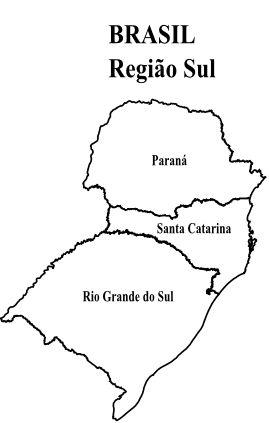 Blog de Geografia: Mapa das 5 Regiões do Brasil para Colorir