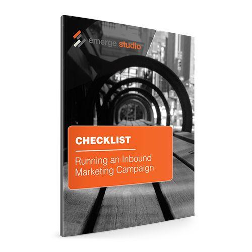 Running an Inbound Marketing Campaign Checklist