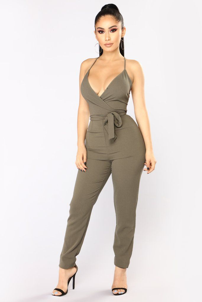 20657eb5926 New Womens Clothing. Jada Jumpsuit - Olive