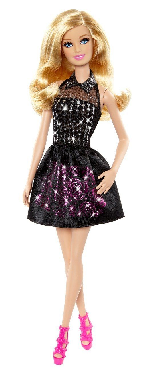 Barbie - Purpurina fashion, decora sus vestidos (Mattel): Amazon.es: Juguetes y juegos