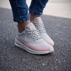 Nike Schuhe Damen Grau Rosa