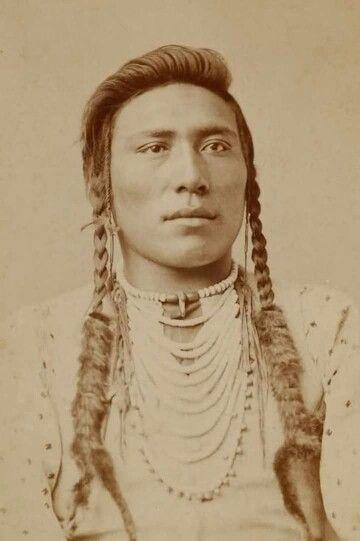 Crow man late 1800's