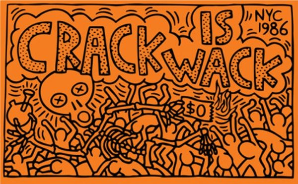 Crack is wack 1986 keith haring haring for Crack is wack keith haring mural