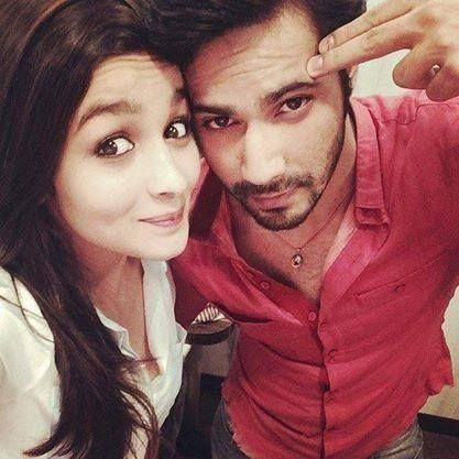 #‎AliaBhatt‬ & Varun SURESH Dhawan's ‪#‎friday‬ 'masti' has begun! What about your's?