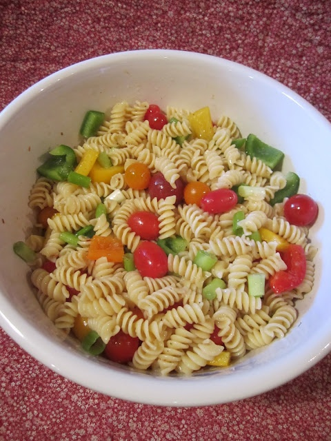 How To Make A Cold Pasta Salad Recipe Easy Pasta Salad