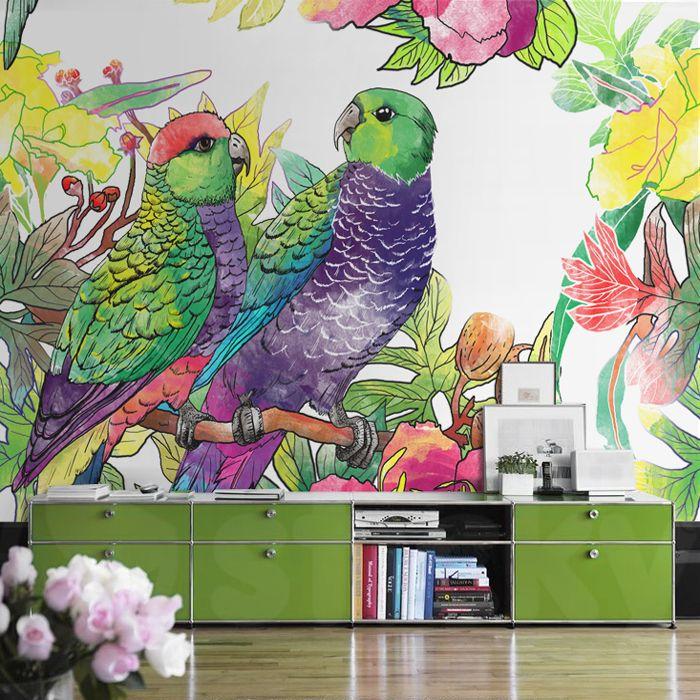 PARROTS Wallpaper by Sticky!!!