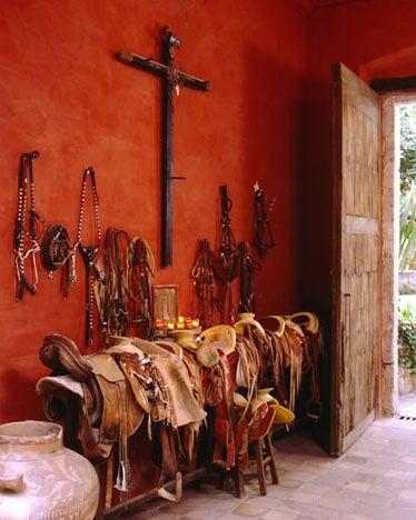 Favorite wall color. Hacienda Molino de Agua San Miguel de Allende, Guanajuato, Mexico