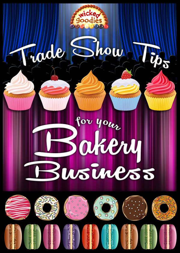 Trade Show Ideas for Your Bakery in 2019 | Cake templates | Bakery
