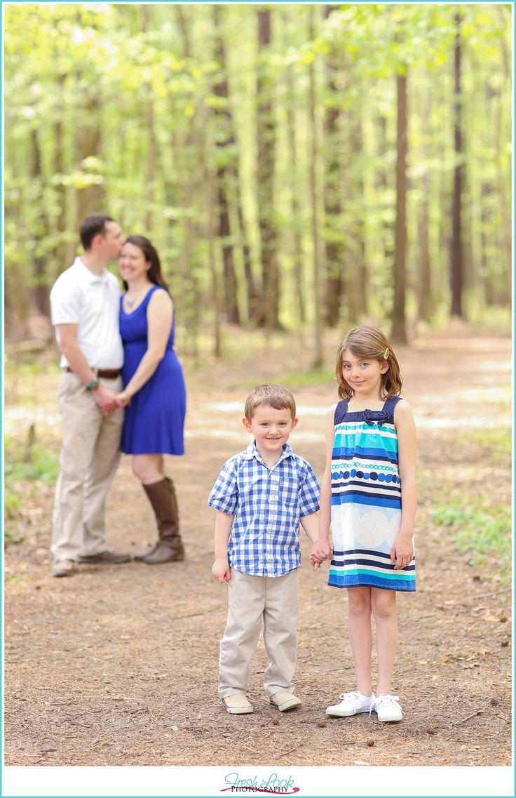 woodsy family photo shoot, family of four, summer family photos, military family, Navy family, pre-deployment photos, Operation Love Reunited, OpLove, Fresh Look Photography